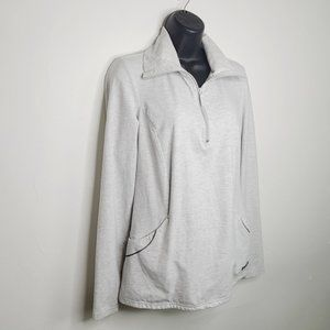 Roots Half Zip Heathered Grey Sweater